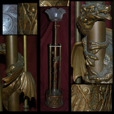 Newel Post Light Antique lighting audiocablefo